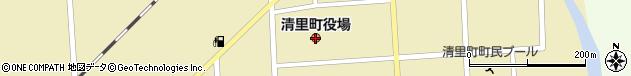 北海道斜里郡清里町周辺の地図