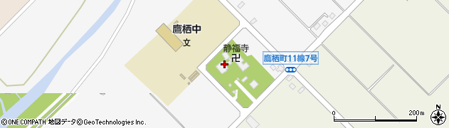 静福寺周辺の地図