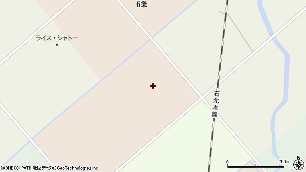 〒078-1305 北海道上川郡当麻町五条西の地図