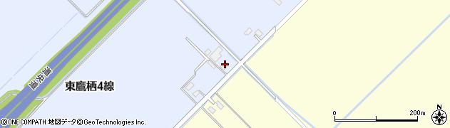 北海道旭川市東鷹栖4線14号周辺の地図