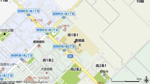〒071-1201 北海道上川郡鷹栖町南一条の地図