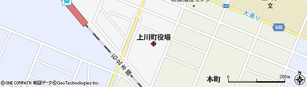 北海道上川町(上川郡)周辺の地図