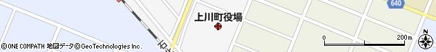 北海道上川郡上川町周辺の地図
