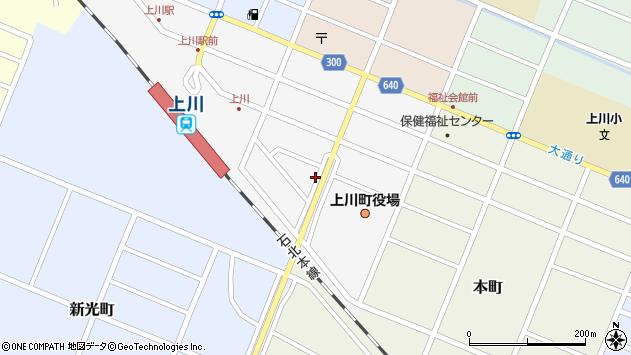 〒078-1753 北海道上川郡上川町南町の地図