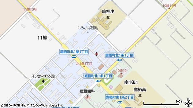 〒071-1211 北海道上川郡鷹栖町北一条の地図