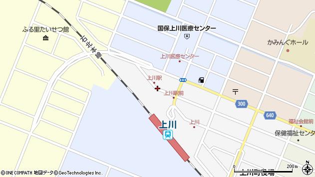 〒078-1741 北海道上川郡上川町中央町の地図