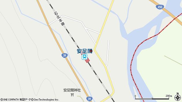 〒078-1654 北海道上川郡愛別町愛山町の地図
