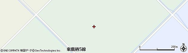北海道旭川市東鷹栖5線周辺の地図