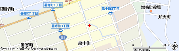 有限会社仙北酒店周辺の地図