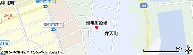 北海道増毛町(増毛郡)周辺の地図