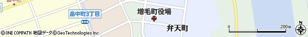 北海道増毛郡増毛町周辺の地図