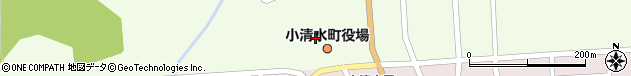 北海道斜里郡小清水町周辺の地図