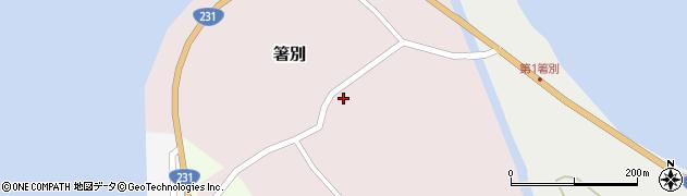 蝦名水産周辺の地図