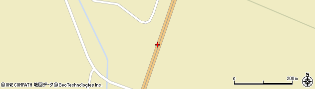 美幌バイパス周辺の地図