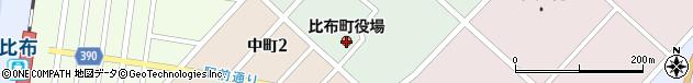北海道上川郡比布町周辺の地図