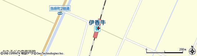 北海道上川郡当麻町周辺の地図
