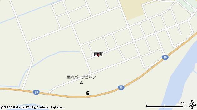 〒078-1403 北海道上川郡愛別町南町の地図