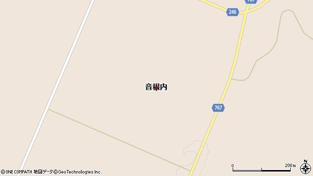 〒099-3501 北海道網走市音根内の地図