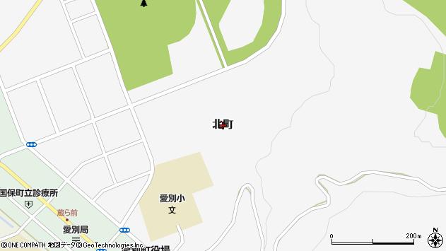 〒078-1404 北海道上川郡愛別町北町の地図