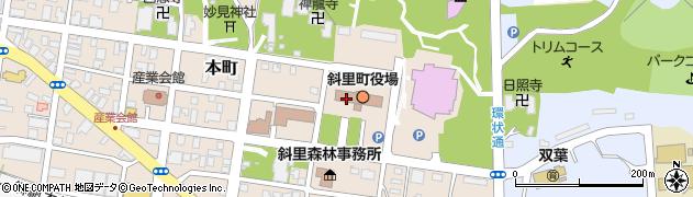 北海道斜里郡斜里町周辺の地図