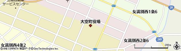北海道大空町(網走郡)周辺の地図