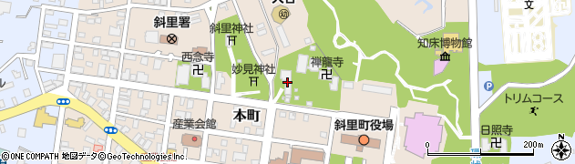 本行寺周辺の地図