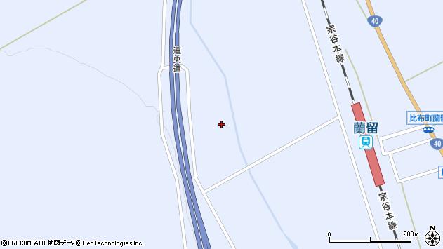 〒078-0329 北海道上川郡比布町北9線の地図