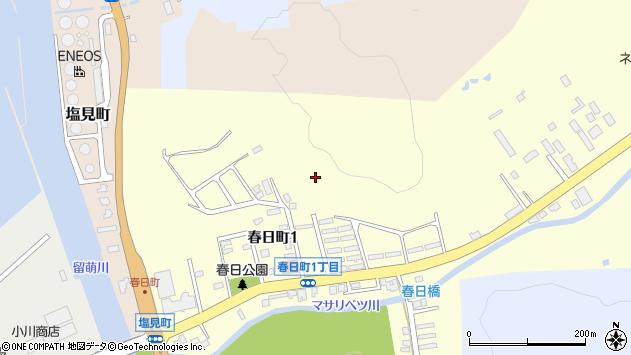 〒077-0003 北海道留萌市春日町の地図