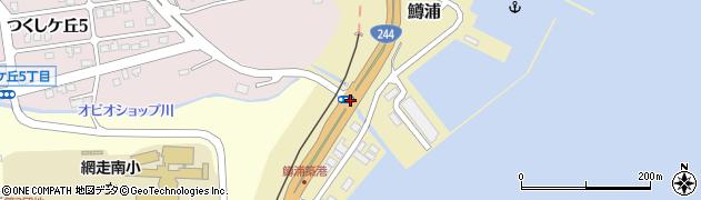 鱒浦周辺の地図