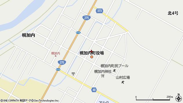 〒074-0400 北海道雨竜郡幌加内町(以下に掲載がない場合)の地図