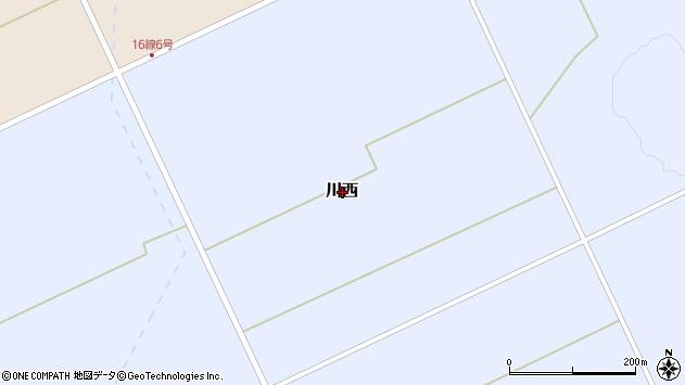 〒098-0121 北海道上川郡和寒町川西の地図