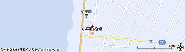 北海道留萌郡小平町周辺の地図