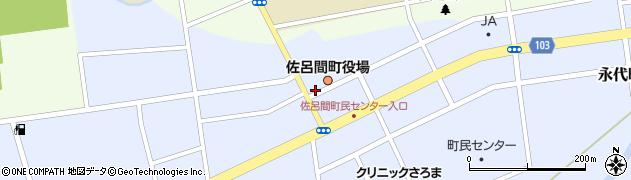 北海道常呂郡佐呂間町周辺の地図