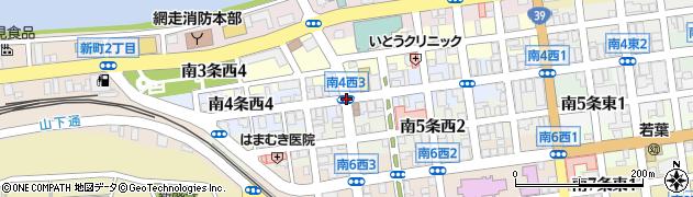 南4西3周辺の地図