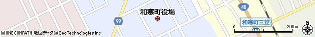 北海道上川郡和寒町周辺の地図