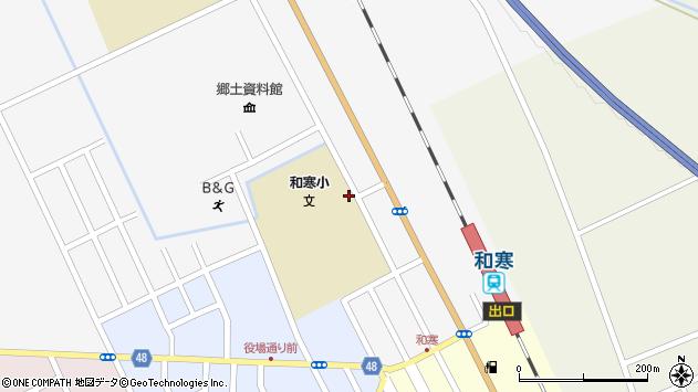 〒098-0133 北海道上川郡和寒町北町の地図