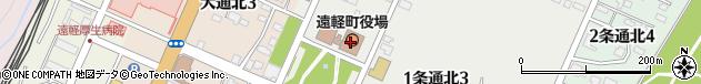 北海道紋別郡遠軽町周辺の地図