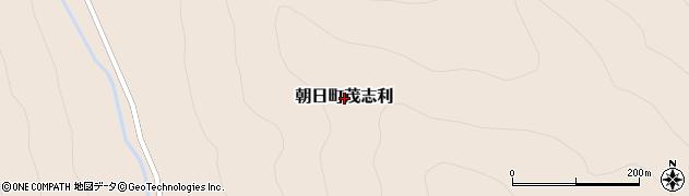 北海道士別市朝日町茂志利周辺の地図