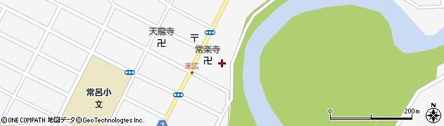 常楽寺周辺の地図