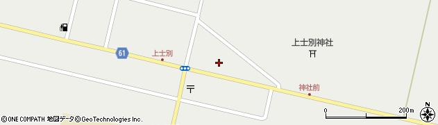 北海道士別市上士別町(16線北)周辺の地図