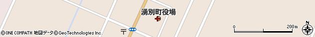 北海道紋別郡湧別町周辺の地図