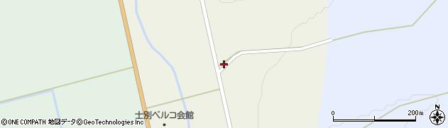 北海道士別市南町東周辺の地図