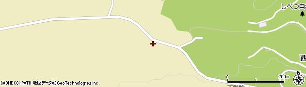 北海道士別市新学田周辺の地図