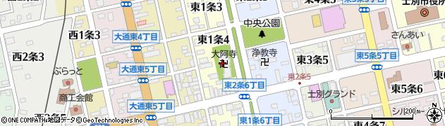 大阿寺周辺の地図