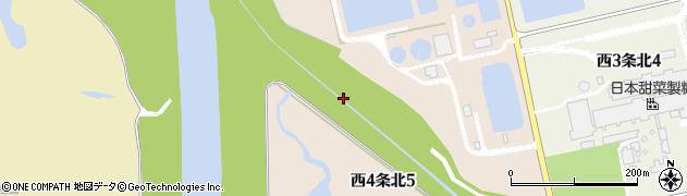北海道士別市西4条北周辺の地図