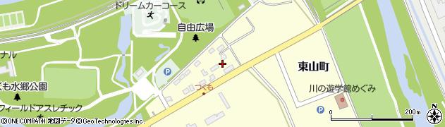 北海道士別市九十九町周辺の地図