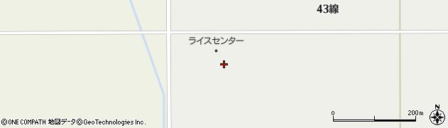 北海道士別市武徳町(43線東)周辺の地図