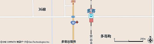 北海道士別市多寄町(36線西)周辺の地図