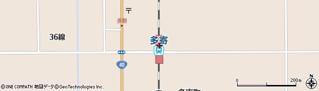 北海道士別市周辺の地図