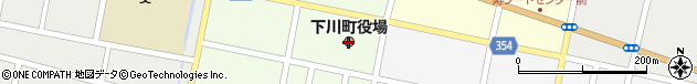 北海道上川郡下川町周辺の地図